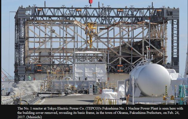 In photos: Inside the Fukushima No.1 nuclear plant