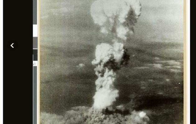 Detailed photos of horoshima bombing