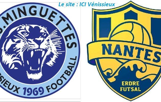 Vénissieux : C'est demain, le 8e de finale de la coupe de France de Futsal l'AS Minguettes-Vénissieux / FC Nante d'Erdre ( 1ère division)