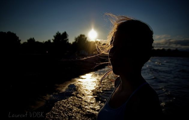 Un coucher de soleil, multiples compositions...