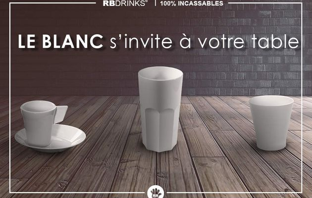 Le blanc s'invite à votre table !