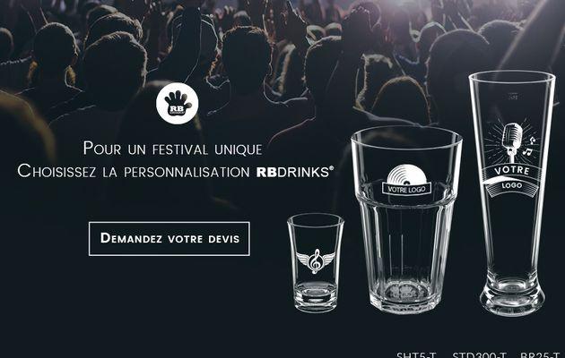 Choisissez la personnalisation pour votre festival !