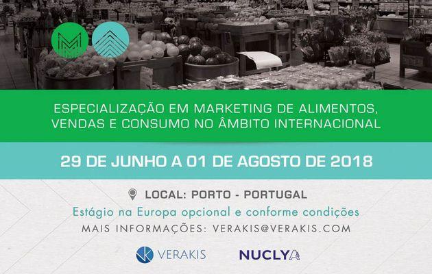 Marketing de Alimentos - Certificado Internacional - Edição 2018.