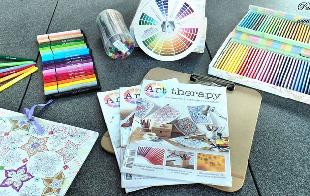 Présentation de la Collection Hachette - Art Therapy