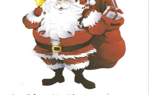 Le Père Noël à Beaumont-Pied-de-Boeuf