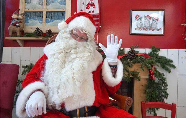 Prendre une photo avec la Père Noël