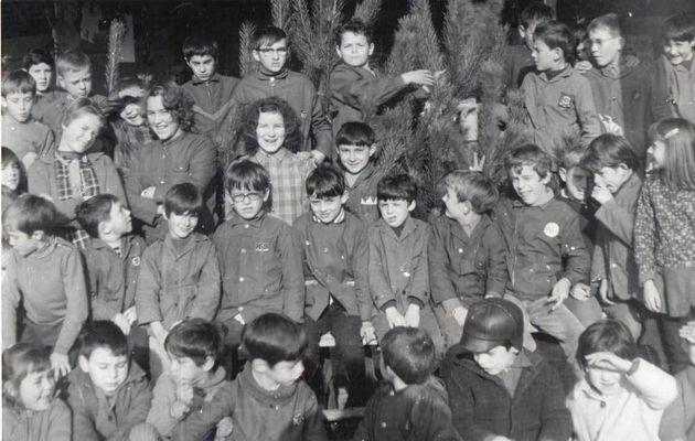 Décembre 1970...Ecole de Beaumont-Pied-de-Boeuf