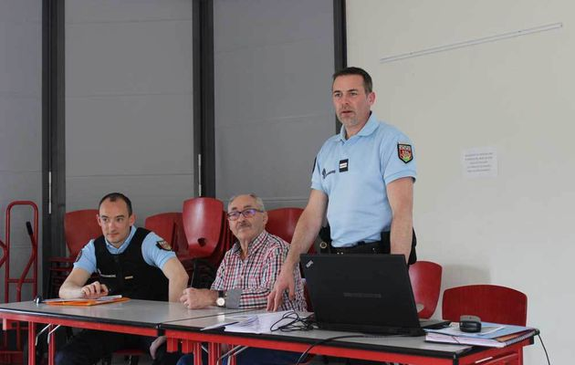 La gendarmerie sensibilise les seniors sur les actes de malveillance