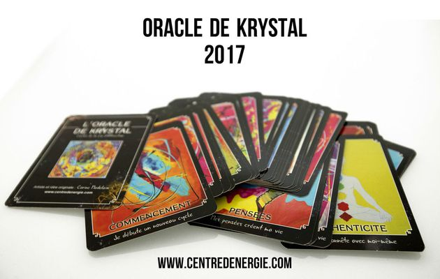 Guidance 2017 Oracle de Krystal
