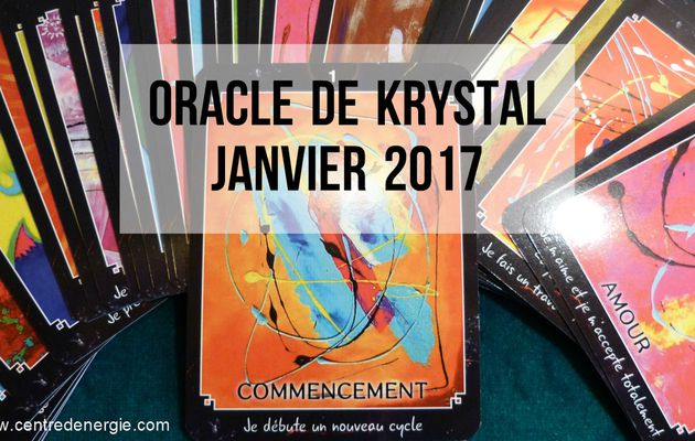 Guidance Oracle de Krystal Janvier 2017