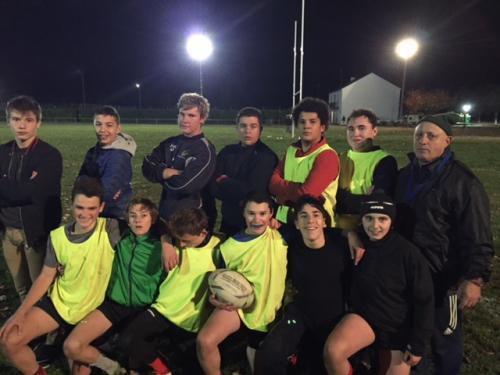 Montoire : Au Rugby Club,  les moins de 14 ans cherchent de nouveaux joueurs