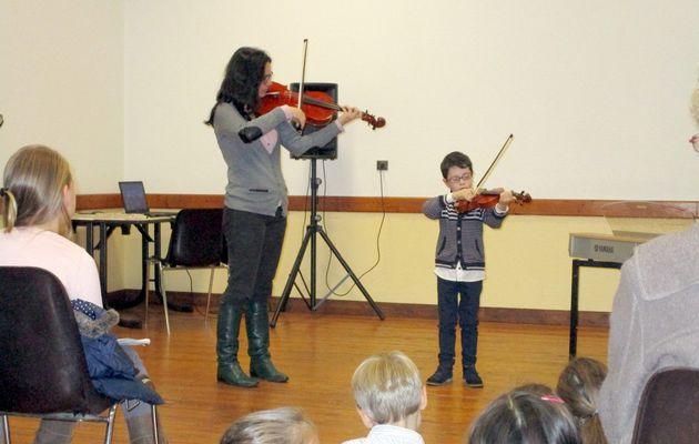 Marçon : concert de l'Ecole de Musique du Val du Loir
