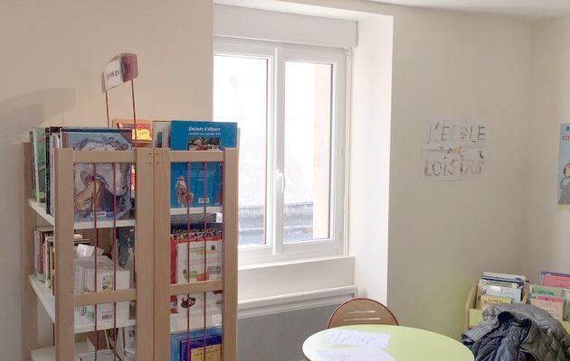 Lhomme : ouverture de la bibliothèque municipale