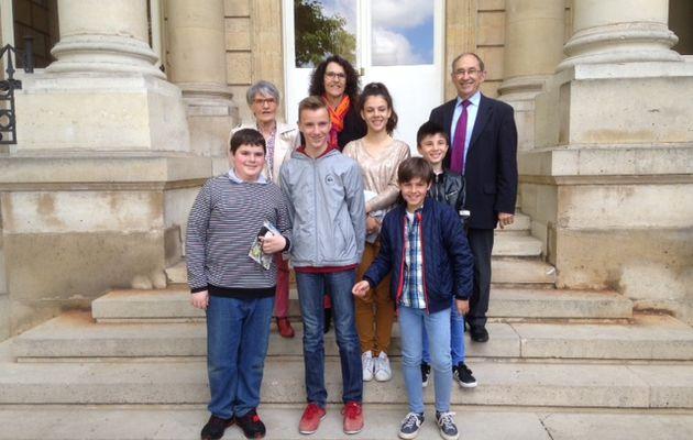 Lhomme : Les Jeunes citoyens à l'Assemblée nationale