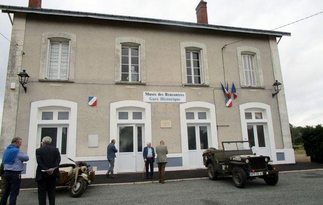 Montoire : la gare historique, au nom du Devoir de Mémoire
