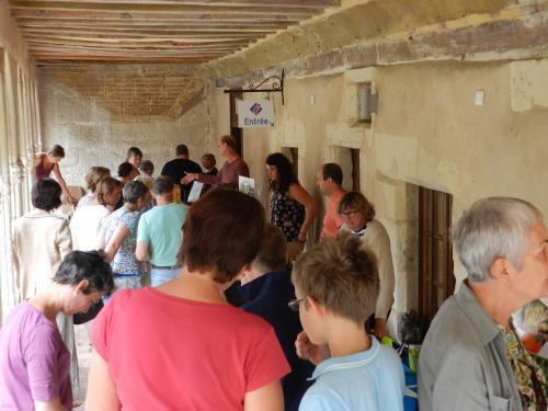 Montoire : Pose gourmande à l'Office de tourisme