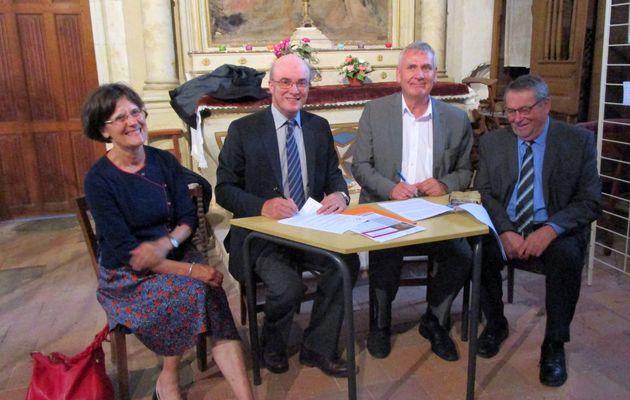 Lhomme : Lancement de la souscription pour l'église