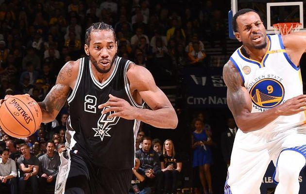 Les Spurs corrigent les Warriors à Oakland