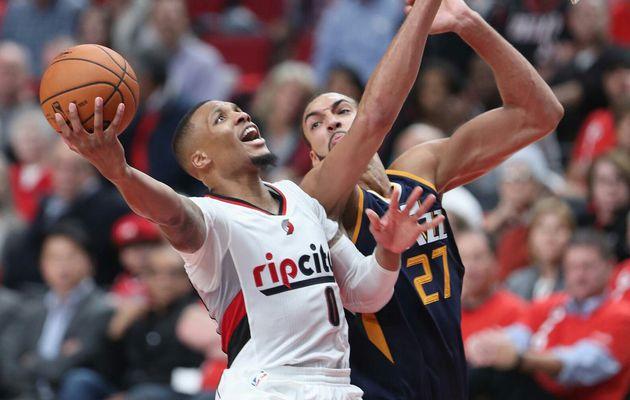 Damian Lillard (39 points) et Portland renversent Utah Jazz