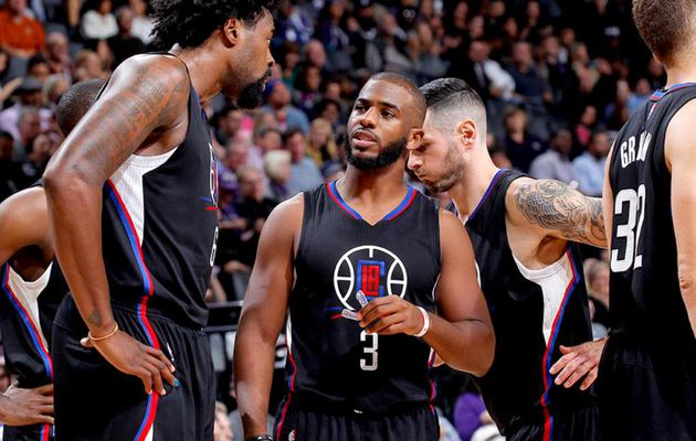 Chris Paul (27 points) et Blake Griffin (27 points, 13 rebonds) portent les Clippers à Portland