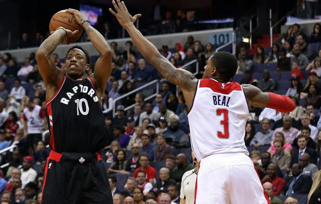 DeMar DeRozan (40 points) porte les Raptors à DC