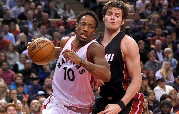 DeMar DeRozan (34 points) et Toronto dominent le Heat