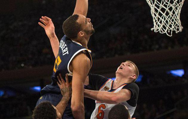 Le Top 10 de la nuit dernière en NBA : Rudy Gobert martyrise Porzingis