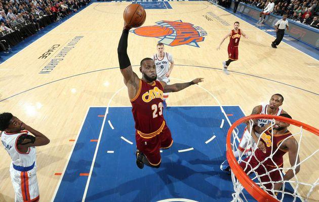 Les Cavs corrigent les Knicks au Madison Square Garden