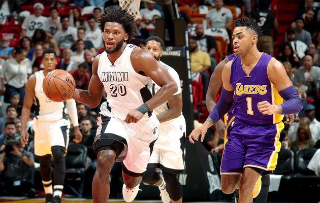 Miami remonte un déficit de 19 points pour battre les Lakers
