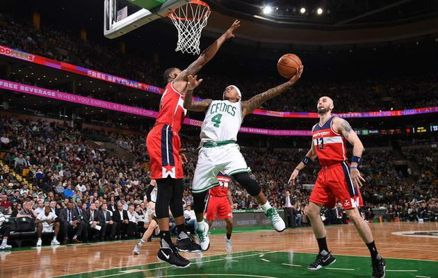 Isaiah Thomas porte encore Boston face à Washington