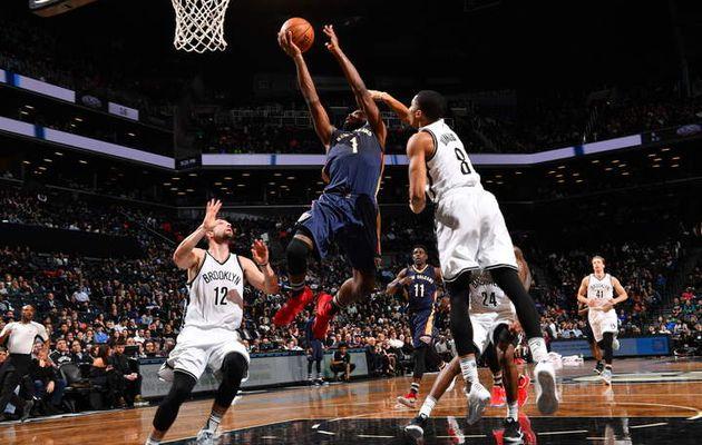 Sans Anthony Davis, les Pelicans s'imposent contre les Nets