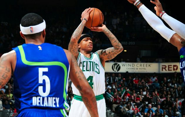 Le roi du money-time Isaiah Thomas a encore frappé à Atlanta