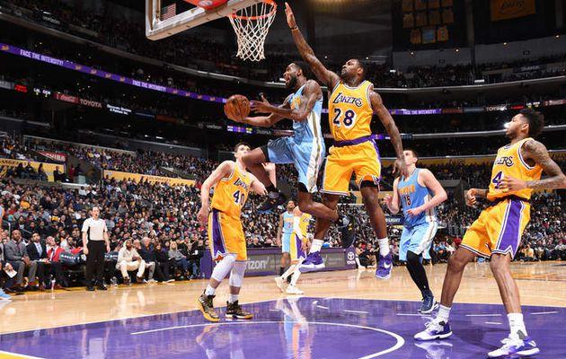 Denver vient à bout des Lakers et s'empare de la 8ème place à l'Ouest