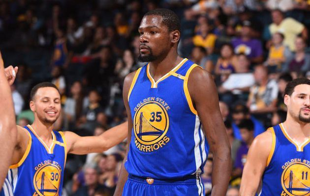 Le trio Stephen Curry, Kevin Durant et Klay Thompson insaisissable à Los Angeles