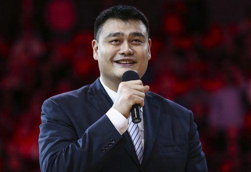 Yao Ming honoré par les Houston Rockets