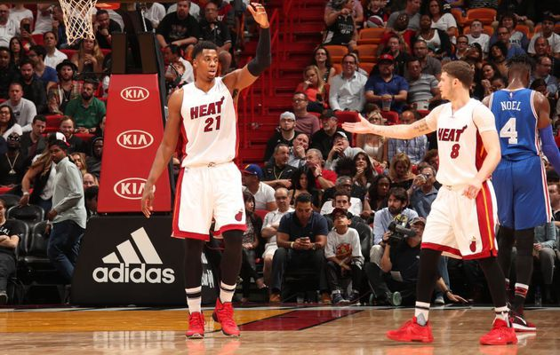 Miami remporte une 10e victoire d'affilée face aux Sixers