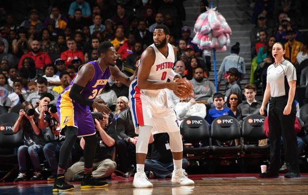 Andre Drummond porte Detroit face aux Lakers