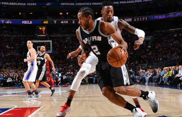 Les Spurs s'imposent à Philadelphie