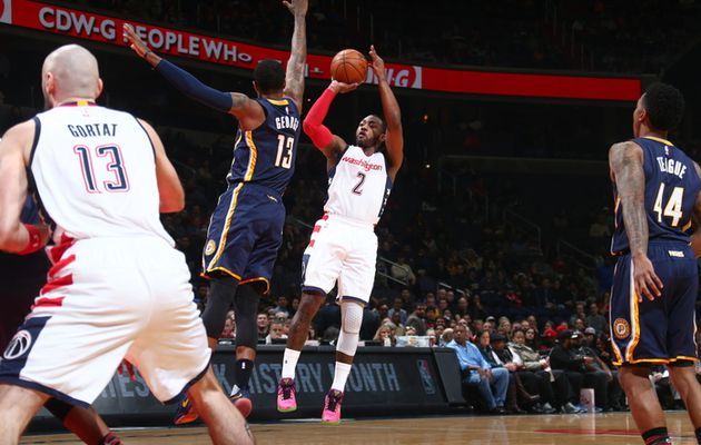 John Wall et Washington viennent à bout des Pacers