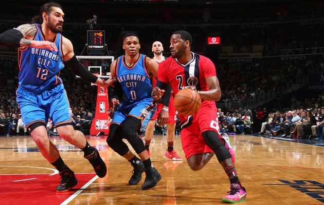 Washington maîtrise Russell Westbrook et le Thunder