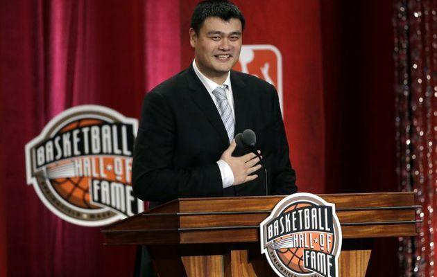 Yao Ming élu président de la ligue Chinoise