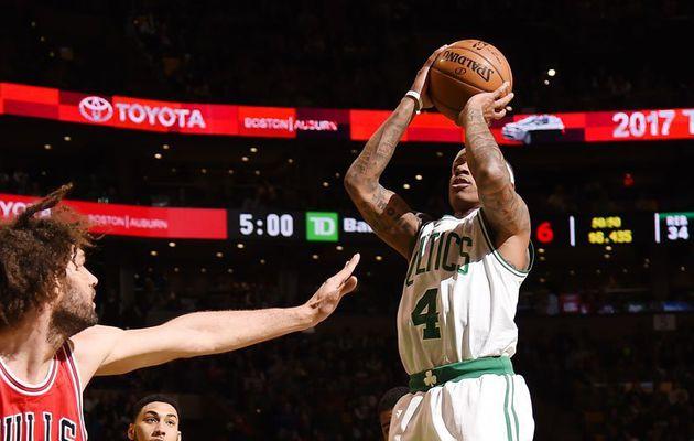 Sans forcer, Boston déroule face aux Bulls