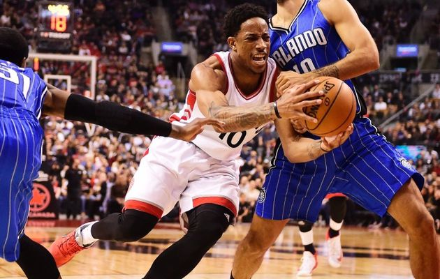 DeMar DeRozan et Toronto font la misère au Magic