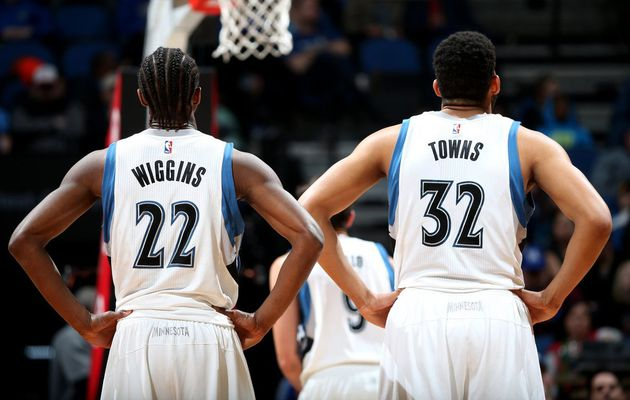 Ricky Rubio et le duo Karl-anthony Towns - Andrew Wiggins s'occupent des Lakers
