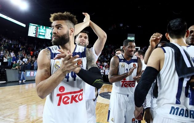 Le Real Madrid qualifié pour le Final Four de l'Euroleague
