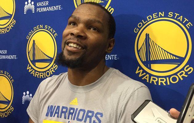 """Kevin Durant : """" Je suis impatient de jouer le second tour """""""