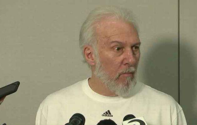 Furieux contre Zaza Pachulia, Gregg Popovich indique que Kawhi Leonard devrait manquer le Game 2