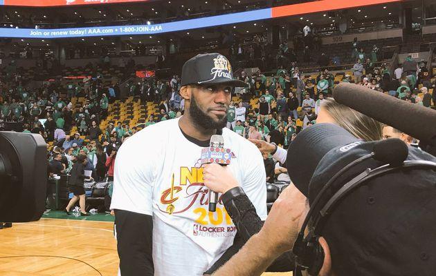 LeBron James : « Je voulais être Michael Jordan »