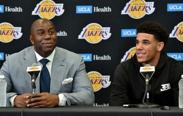 Magic Johnson pense que Lonzo Ball ramènera les Lakers au sommet