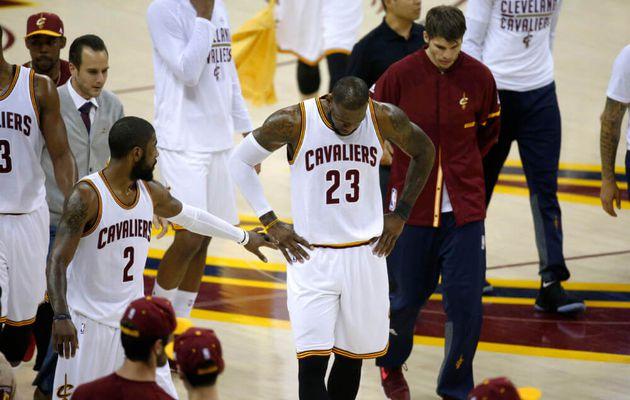LeBron James serait mécontent et furieux après Kyrie Irving